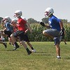 St. Clair/Loyola football practice