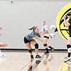 Mankato East volleyball practice