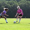 Mankato West girls soccer practice