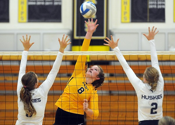 Mankato East volleyball v. JCC
