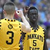 Mankato East boys basketball Joich Gong