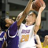 MSU men's basketball v. Waldorf 2