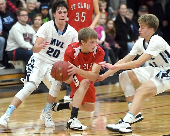 MVL v. St. Clair boys basketball 2