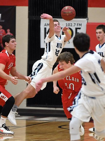 MVL v. St. Clair boys basketball 1