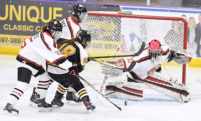 Mankato West v. Mankato East girls hockey 3