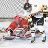 Mankato East/Loyola v. Mankato West girls hockey 1