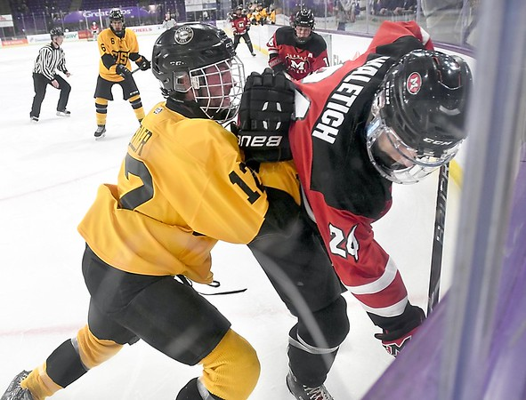 Mankato East/Loyola v. Mankato West boys hockey 2