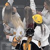 Mankato East/Loyola girls hockey v. St. Paul United selfie