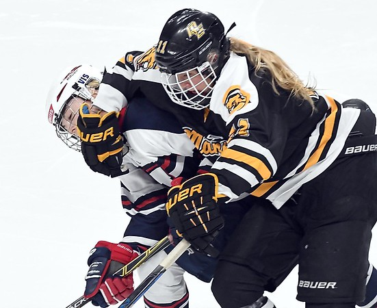 Mankato East/Loyola girls hockey v. St. Paul United 2