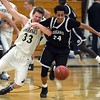 Mankato East boys basketball v. Faribault 2