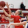 Mankato West girls basketball v. Red Wing 2