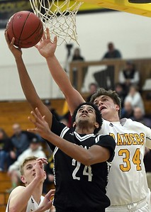 Mankato East boys basketball v. Northfield 1