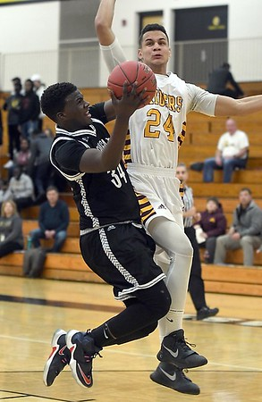 Mankato East boys basketball v. Northfield 2