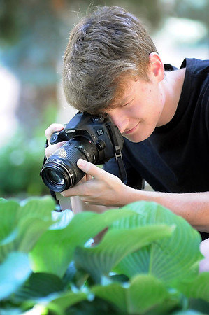 John Cross<br /> Seventeen-year-old Andrew Murray, son of Tom and Ann Murray of Mankato, has a photographic eye for the smaller natural things in life.