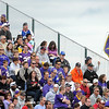 Pat Christman <br /> Fans fill the stands near the Minnesota State University practice fields during the Minnesota Vikings training camp practice Saturday.
