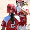 Mankato West softball v. Visitation 4