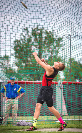 Section 2A Boys Discus
