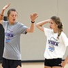 Molly Lohman volleyball camp 1