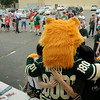 Minnesota Wild fans are lined up for autographs during a stop of the Minnesota Wild Summer Caravan at All Seasons Arena on Wednesday. Photo by John Cross
