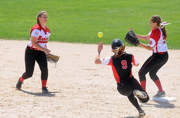 Mankato West softball v. Alexandria 1