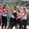 Mankato West softball v. Alexandria 4