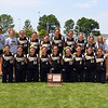 Mankato East accepts their fourth place state softball tournament trophy at Caswell Park in North Mankato.