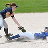St. Peter softball v. Cotter/Hope Lutheran 1