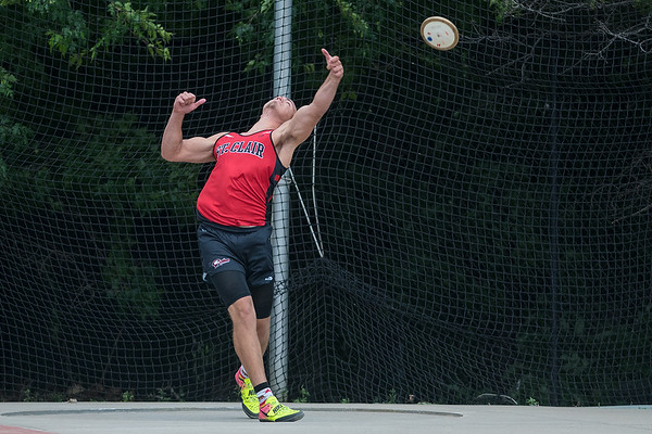 State Track Boys Discus