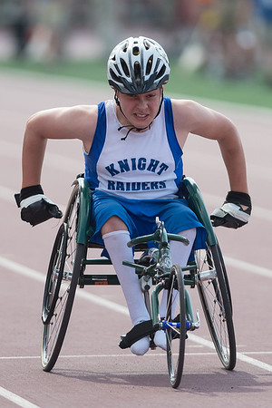 State Track Boys 100 Meter Wheelchair