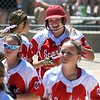 Mankato West softball v. Waconia 2