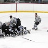 Minnesota River boys hockey v. Rochester Lourdes celebration