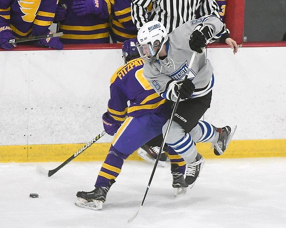 Minnesota River boys hockey v. Rochester Lourdes