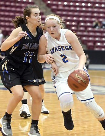 Waseca girls basketball v. Academy of Holy Angels 3