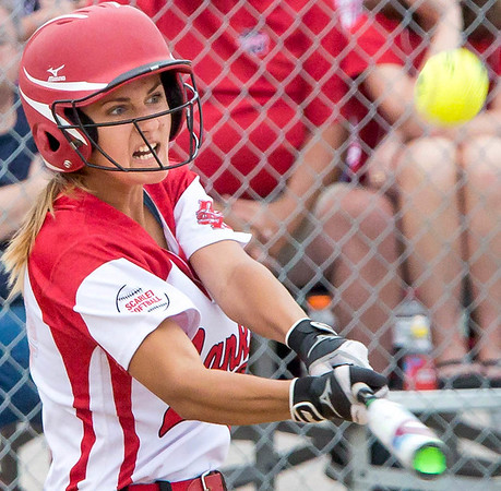 Mankato West softball's Tristan Danay
