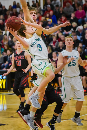 Maple River vs NRHEG  Boys BBall