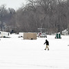 Madison Lake ice fishing