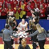 Mankato West girls basketball v. Northfield intro