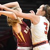 Mankato West girls basketball v. Northfield 3