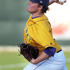 Minnesota State pitcher Tyler Ockuly delivers a pitch during their NCAA Division II Central Region baseball tournament game Thursday.