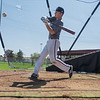 Bethany Lutheran's Grant Becher takes batting practice on Tuesday. The Vikings will travel to Duluth to take on Concordia University Chicago in the NCAA Division III Regional Tournament. Photo by Jackson Forderer