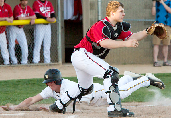 Mankato West v East Baseball 1