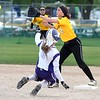 Mankato East softball v. New Ulm 2