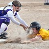 Mankato East softball v. New Ulm 1