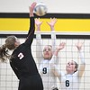 Tri City United volleyball v. Kenyon-Wanamingo