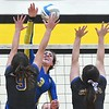 Waseca v. Le Sueur-Henderson volleyball 2