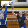 Waseca v. Le Sueur-Henderson volleyball 1