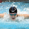 Mankato West's Danielle Nack swims during the 100 yard butterfly finals at the State Class A swimming and diving meet Saturday at the University of Minnesota Aquatic Center. Nack set a Minnesota all-time record of 52.41 during the race.