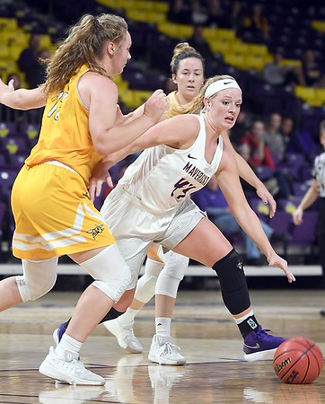 MSU women's basketball v. Black Hills State 2