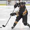 Mankato East boys hockey Martthew Salzle