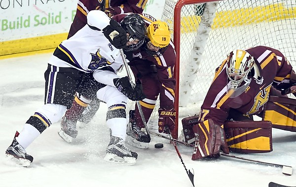 MSU men's hockey v. Minnesota 6